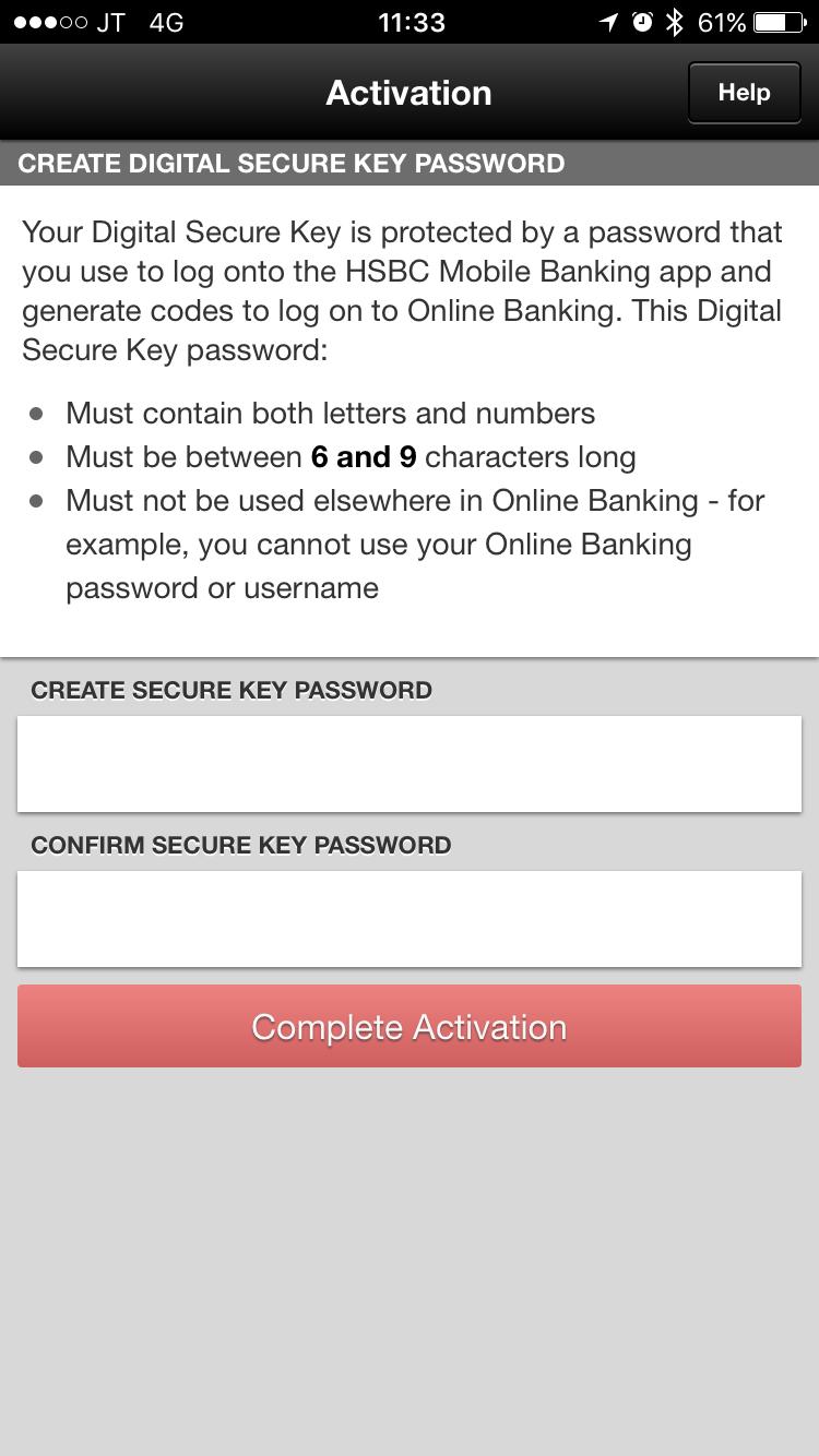 Digital Secure Key Setup