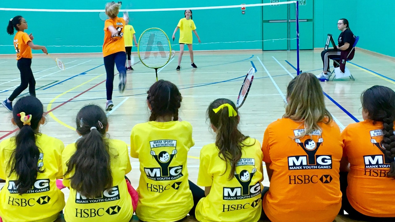 badminton youth game